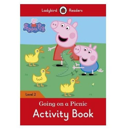 Peppa Pig: Going On A Picnic Activity Book - Ladybird Readers Level 2, Penguin