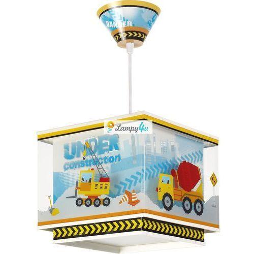 Dalber Klik 63612 - dziecięca lampa wisząca constructor 1xe27/60w/230v (8420406636122). Najniższe ceny, najlepsze promocje w sklepach, opinie.
