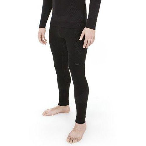 Spodnie męskie termoaktywne Gatta Ultra Motto Black Grey, kolor czarny