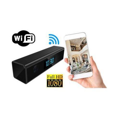 Spy Szpiegowska kamera full hd wifi/p2p dzienno-nocna (cały świat!) ukryta w zegarku biurkowym + zapis..