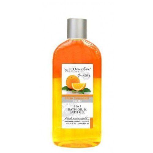 ECO RECEPTURA Fresh Tangerines - dwufazowy olejek do kąpieli 250ml, 27755