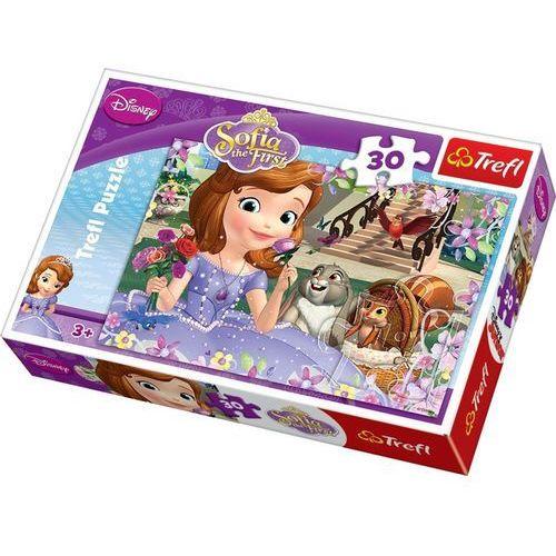 Trefl Puzzle 30 sofia the first pachnące róże (5900511181968)