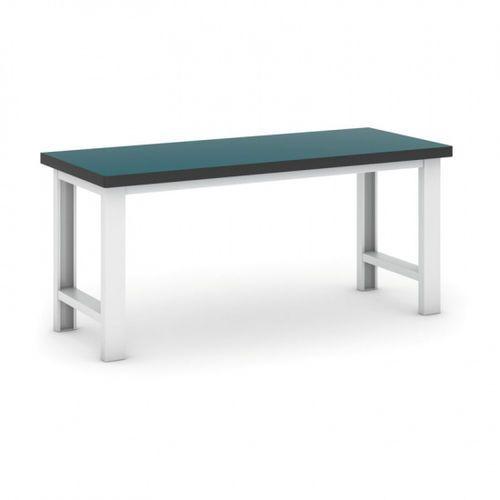 B2b partner Profesjonalny stół warsztatowy gb 500, zielony blat, długość 1800 mm