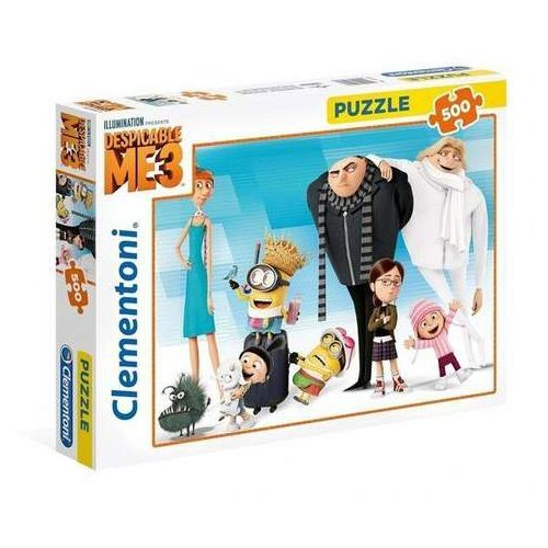 Clementoni Puzzle minionki 500 -
