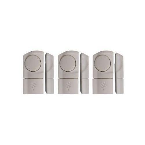 Zestaw 3 punktowych bezprzewodowych mini-alarmów, okienno - drzwiowe. marki Or-o