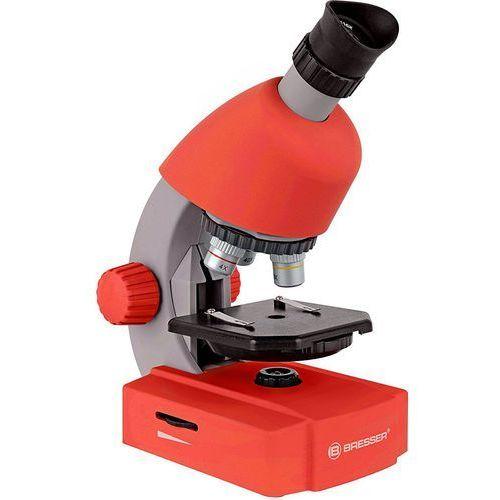 Mikroskop BRESSER Junior 40x-640x Czerwony + DARMOWY TRANSPORT! (0611901514703)