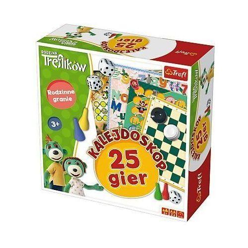 Gra rodzina ików - kalejdoskop 25 gier marki Trefl