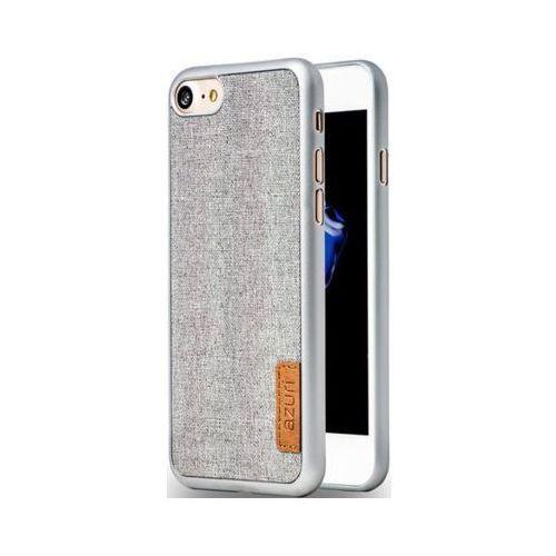 Azuri Etui  jeans do apple iphone 7/8 szary azcovelfabiph7-gry (5412882699664)