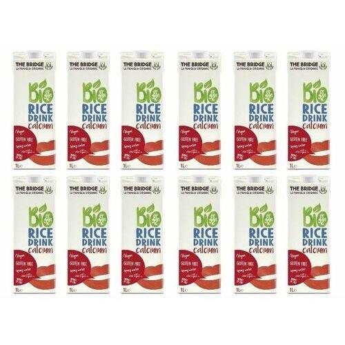 The bridge Napój ryżowy z wapniem zestaw 12 x 1l -  - eko
