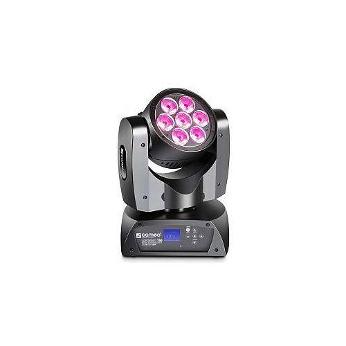 Cameo Light AUROBEAM 150 - 7 x 15 W RGBW LED Infinity, ruchoma głowa LED Beam
