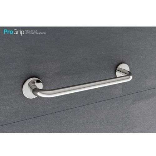 Poręcz dla niepełnosprawnych prosta Ø 25 mm, długość 500 mm, PSP/25/504