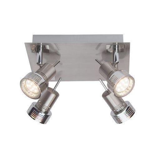 Brilliant Lampa punktowa g34735/77 gu10, (dxsxw) 22 x 22 x 12 cm, chrom (satynowy)