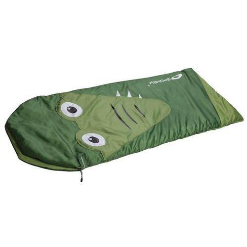 Spokey Śpiwór dziecięcy krokodyl zielony 837195 (5901180371957)