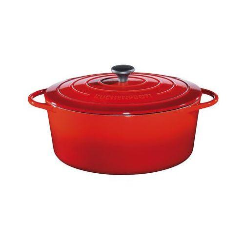Küchenprofi naczynie do pieczenia provence 33 cm, czerwone