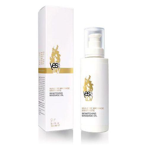 Pełen naturalnych składników olejek do masażu - bewitching massage oil marki Yesforlov