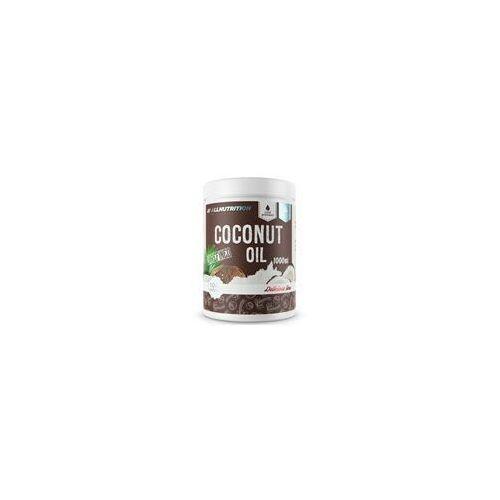 coconut oil unrefined 1000g marki Allnutrition