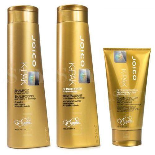 Joico K-Pak | Zestaw regenerujący: szampon 300ml + odżywka 300ml + maska 150ml
