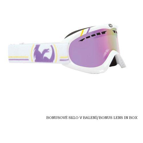 Gogle  - dx holiday classic collection pink ionized + amber (wht) rozmiar: os marki Dragon