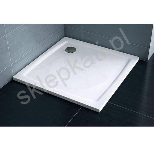 Ravak kwadratowy brodzik prysznicowy Perseus Pro-90 biały XA037701010