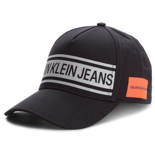 Czapka z daszkiem CALVIN KLEIN JEANS - J Reflective Cap M K40K400767 160, kolor czarny