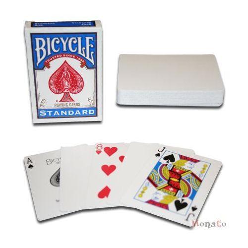 Uspcc - u.s. playing card compa Karty bicycle gaff figura/białe- uspc karty bicycle gaff figura/białe- uspc