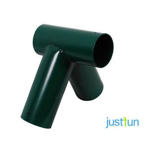 Just fun Łącznik do belki Ø100 mm, 100° - zielony (5902249705140)