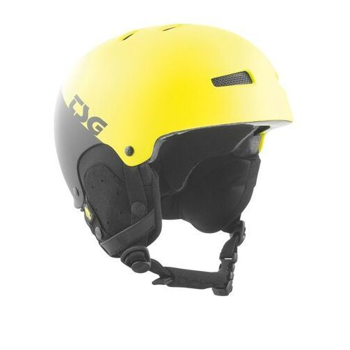 Tsg Kask - gravity youth graphic design divided acid yellow-black (285) rozmiar: s/m