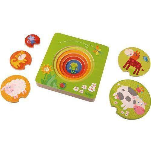 HABA Drewniane Puzzle Farma - zwierzęta, HB301647 (5402700)