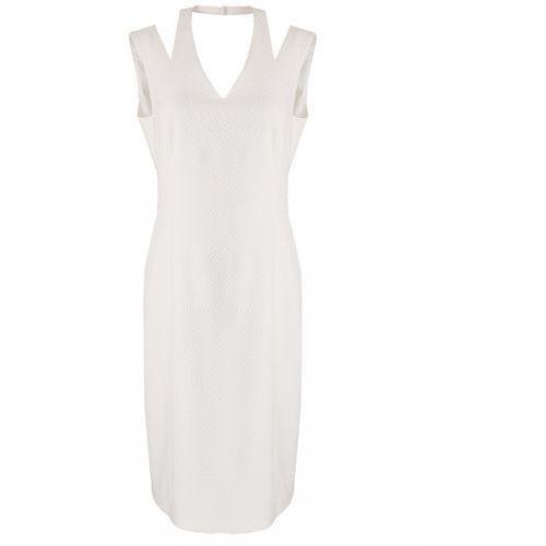 Vito vergelis Sukienka 6056 (kolor: biały, rozmiar: 38)