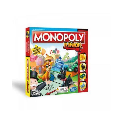 Hasbro Gra monopoly junior - darmowa dostawa od 199 zł!!!