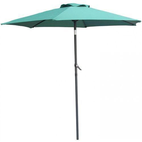 parasol ogrodowy monaco, prosty 2,3 m, zielony marki Makers