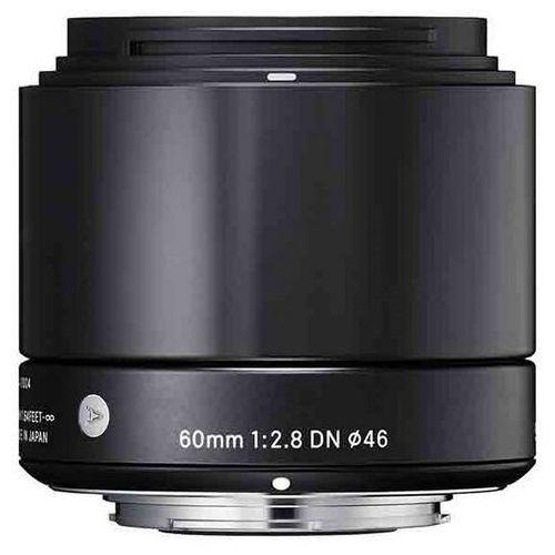 Obiektyw SIGMA A 60/2.8 DN Sony-E Czarny + Zamów z DOSTAWĄ JUTRO! + DARMOWY TRANSPORT!, 350965