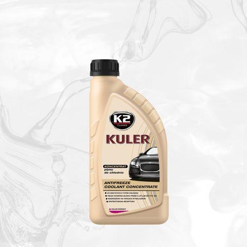 K2 Kuler konc. 1l różowy koncentrat płynu do chłodnic 1:1 - 1l (5906534014795)