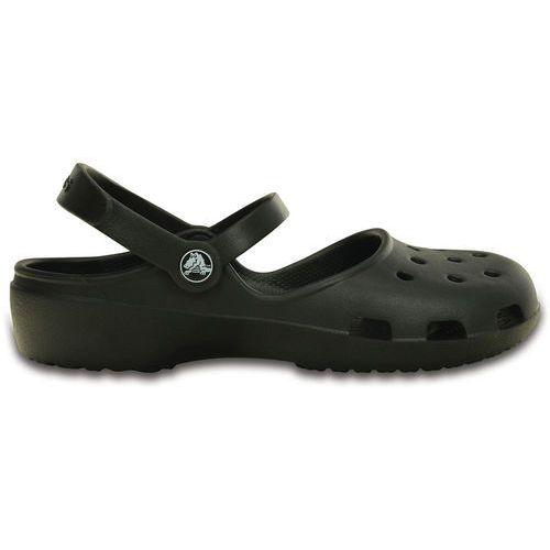 Crocs KARIN Sandały kąpielowe black, kolor czarny