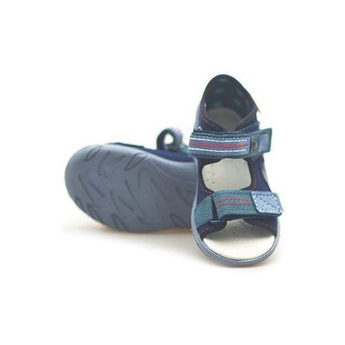 Sandałki dziecięce  065x098 granatowe marki Befado