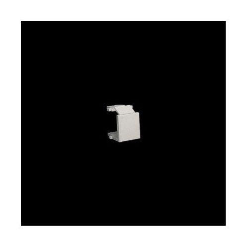 Zaślepka otworu wtyku RJ45/RJ12 do pokrywy gniazda teleinformatycznego; satynowy
