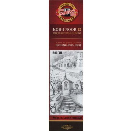Koh-i-noor Ołówek grafitowy 1860/4h 12 sztuk (8593539043140)