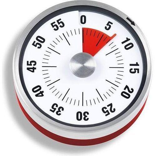 Minutnik mechaniczny ADE dwukolorowy czerwony, TD 1702
