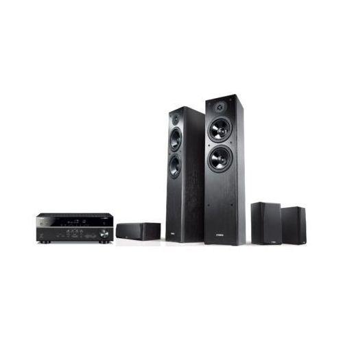Yamaha Kino domowe musiccast rx-v485 + ns-f51/ns-p51 czarny (2000013798664)