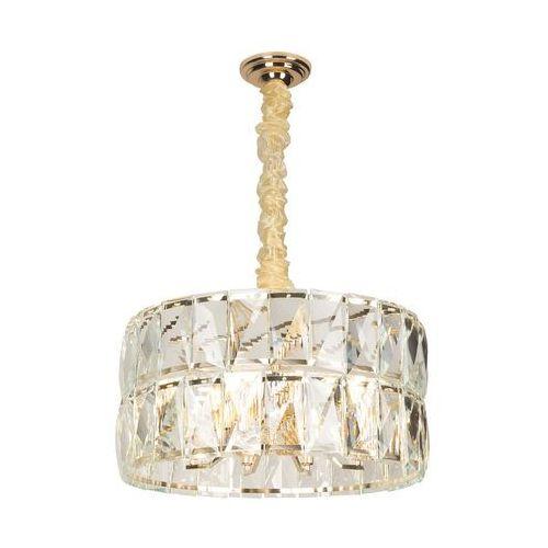 Maxlight Lampa wisząca pascal p0351 10x40w e14 złota (5903351003575)
