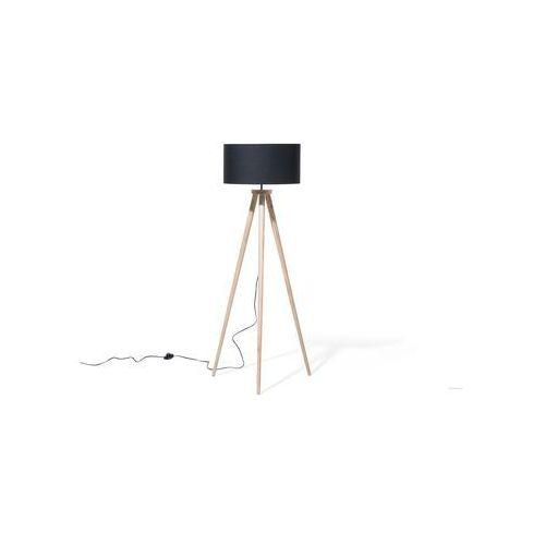 Lampa stojąca - podłogowa w kolorze czarnym - oświetlenie - NITRA (4460198858016)