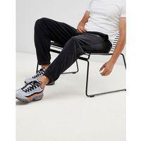 Nike Fleece Joggers With Side Stripe In Black 929126-010 - Black, w 3 rozmiarach
