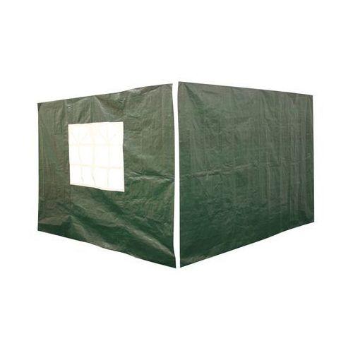 Ścianki do pawilonu 3 x 3 m zielone 2 szt., FSC00133SG