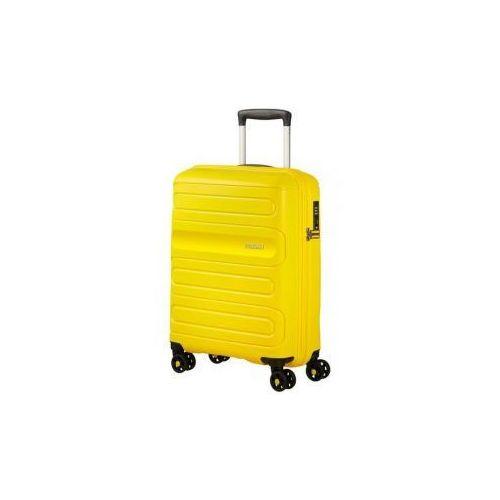 American tourister walizka mała na 4 kołach z kolekcji sunside