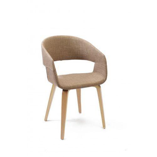 design krzesło dela jasno brązowe marki Signu