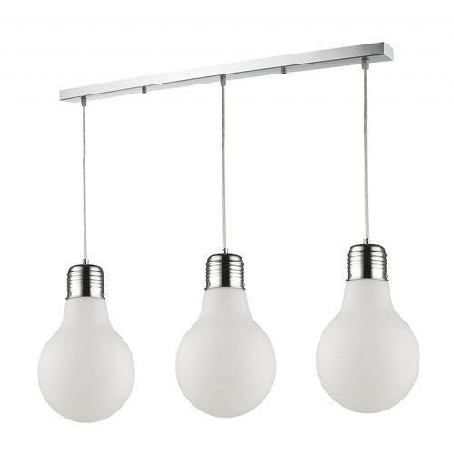 Lampa wisząca zwis flo 3x40w e14 mleczny kr156-3 marki Krislamp