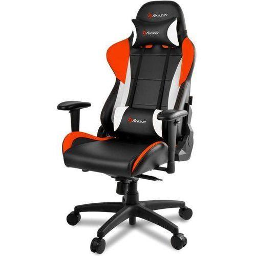 Fotel verona pro v2 czarno-pomarańczowo-biały (verona-pro-v2-or) marki Arozzi