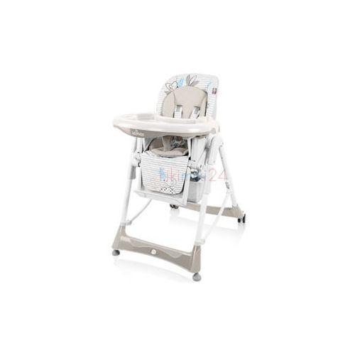 BABY DESIGN Krzesełko do karmienia BAMBI 09 beż, 761703
