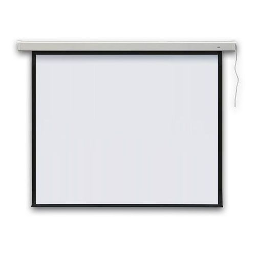 Ekran projekcyjny PROFI elektryczny, ścienny 195x145 cm (4:3)