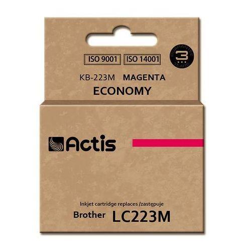 Actis Tusz kb-223m (do drukarki brother, zamiennik lc223m standard 10ml magenta) (5901443108795)